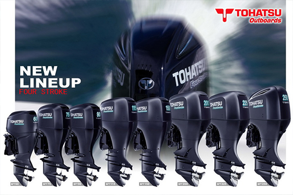 Appointed Tohatsu outboard engine main dealer